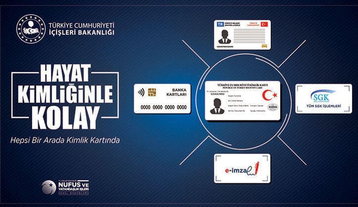 2 milyon kişinin ehliyeti, kimlik kartına aktarıldı #1