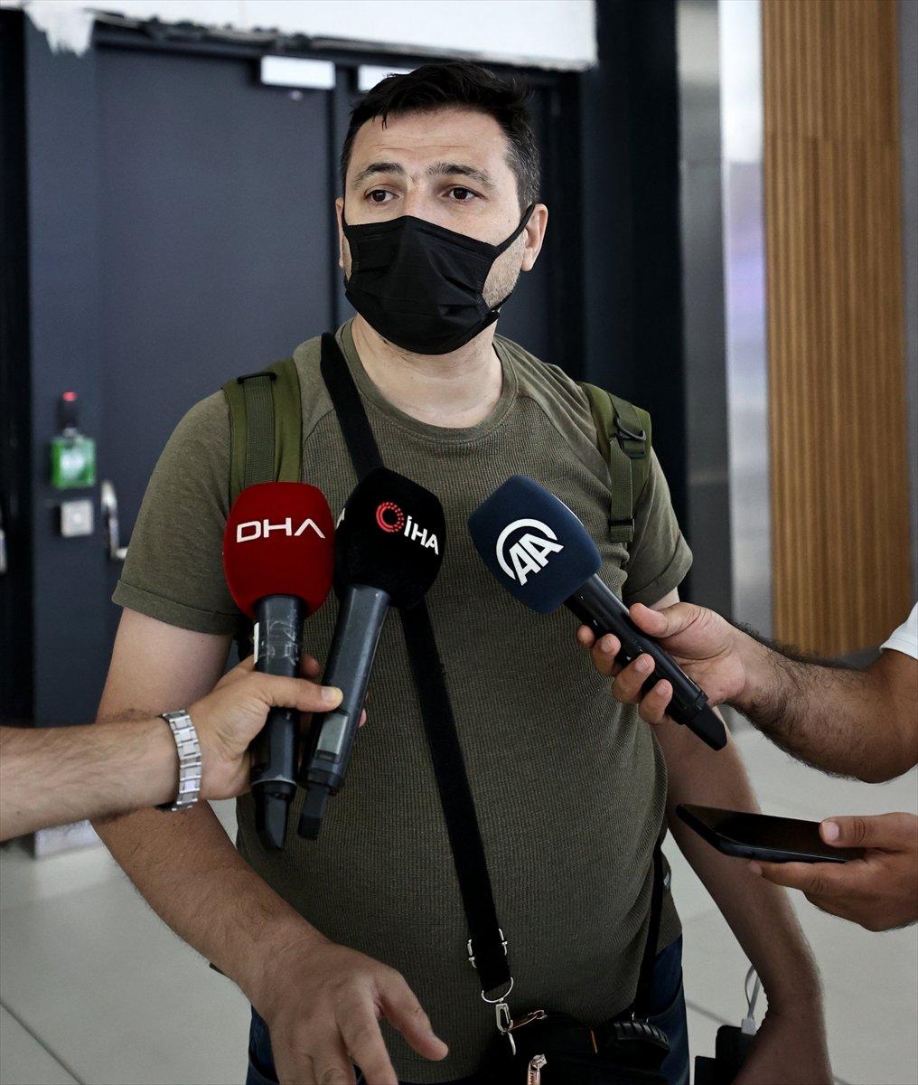 22 Türk vatandaşı, Kabil den tahliye edildi #4