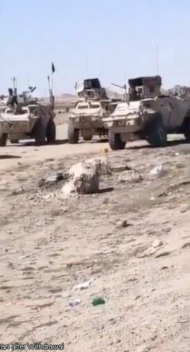 ABD nin Afganistan da bıraktığı askeri teçhizatlar tartışılıyor #5