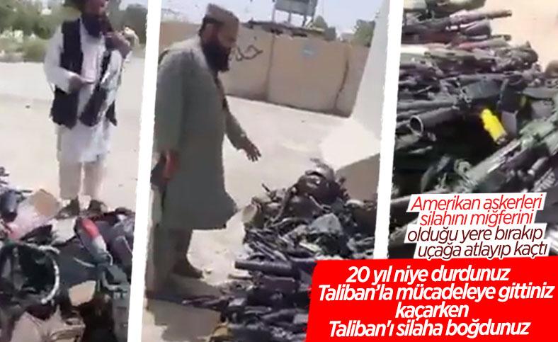ABD'nin Afganistan'da bıraktığı askeri teçhizatlar tartışılıyor