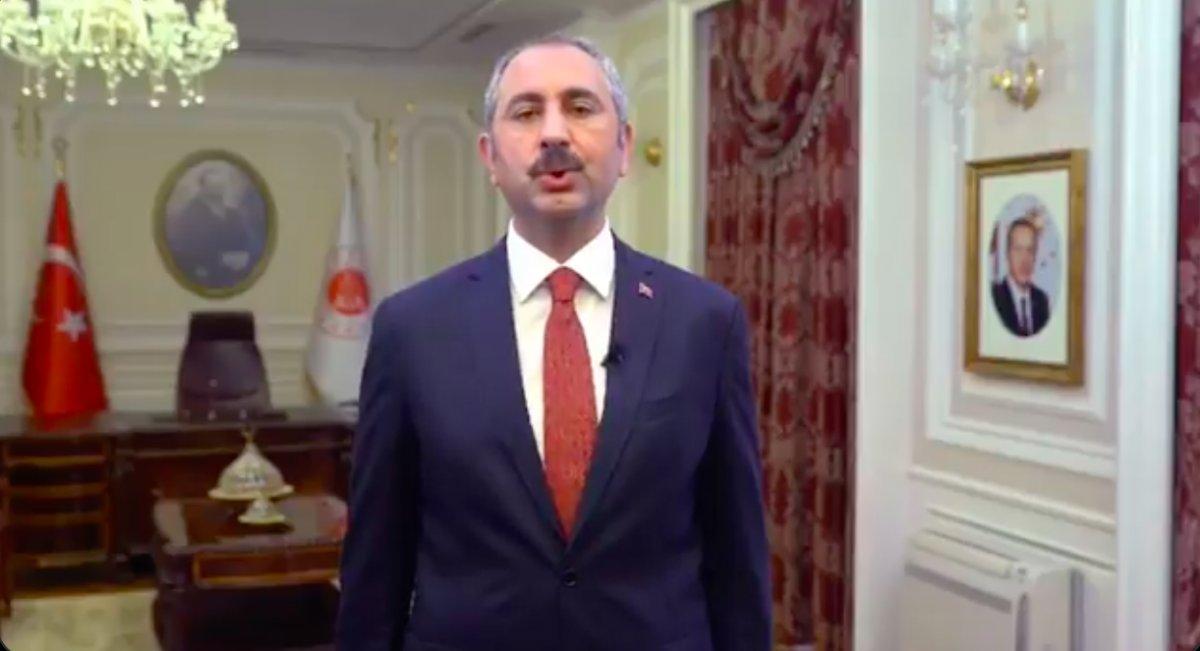 Abdulhamit Gül, yeni adli yıla giren çalışanları tebrik etti #2