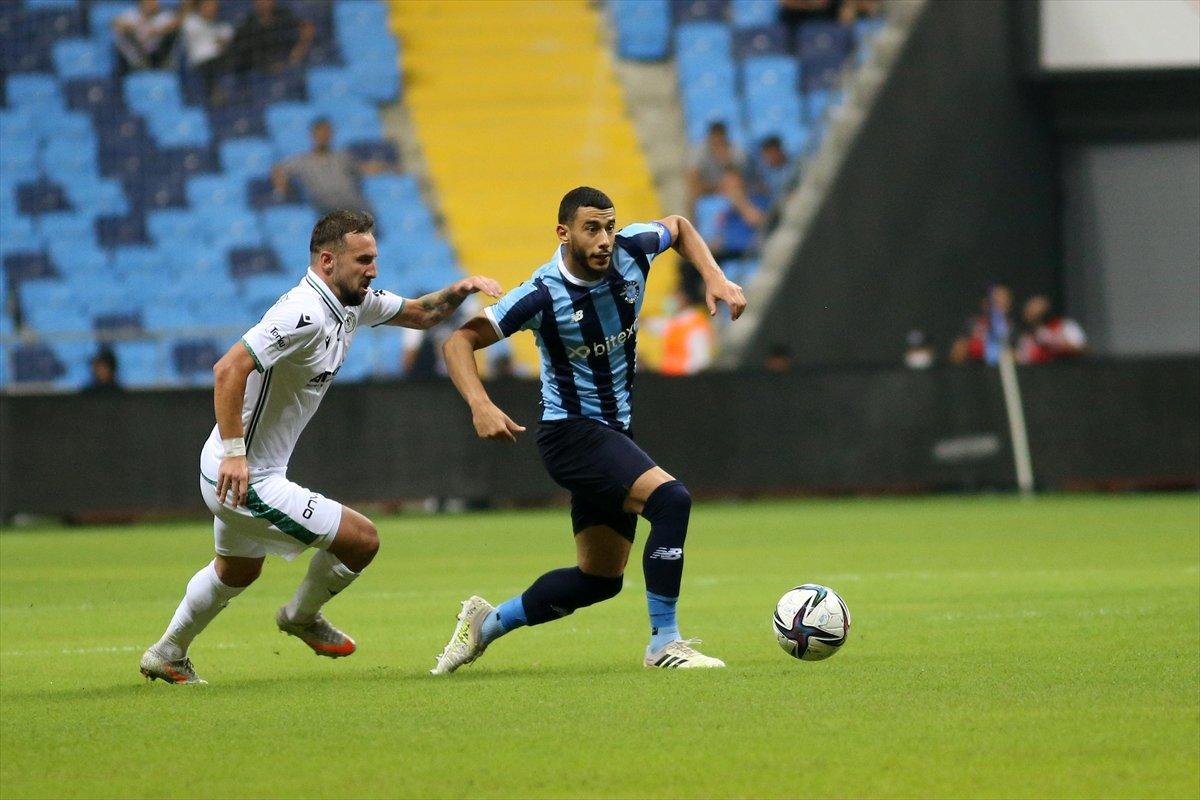 Adana Demirspor ile Konyaspor yenişemedi #2