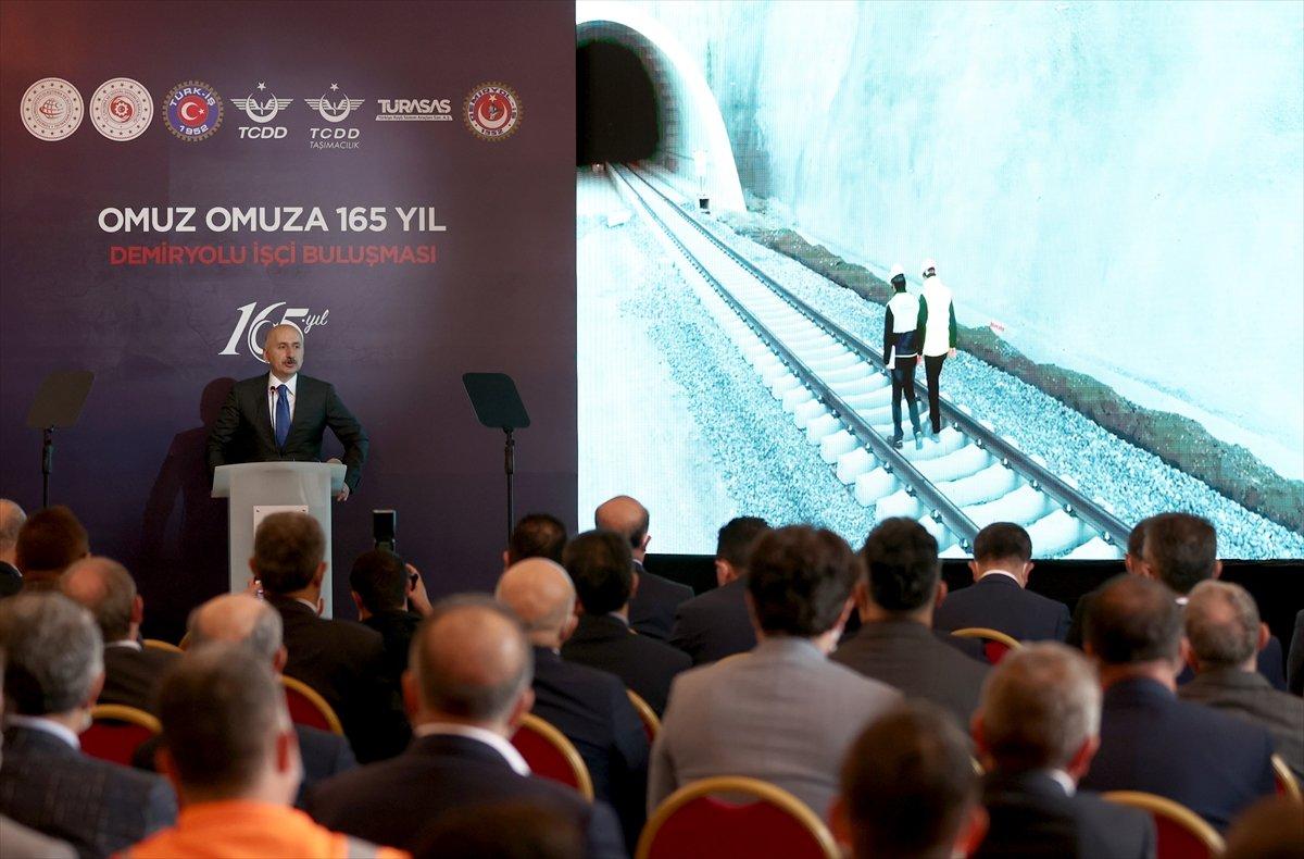 Adil Karaismailoğlu: Demir yollarımızda taşınan yük miktarında artış görüldü #2