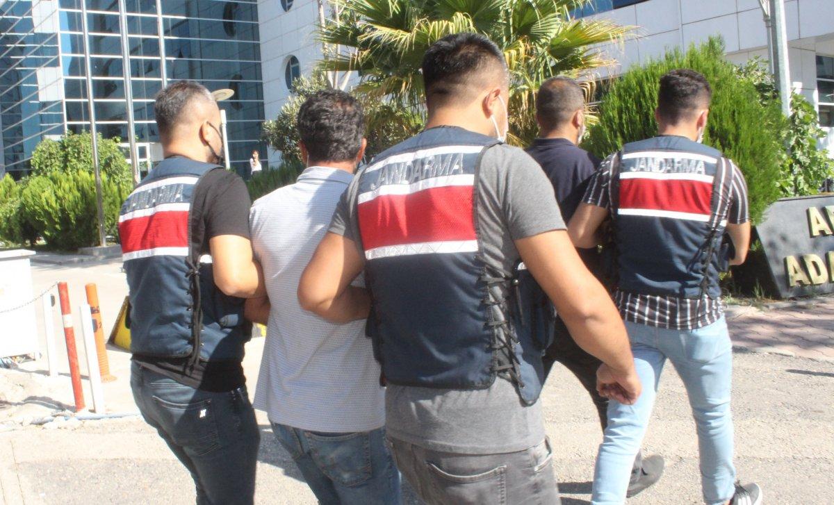 Adıyaman da teröristlere erzak taşıyanlara operasyon #1