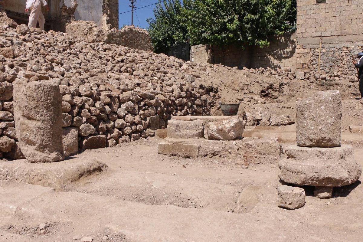 Adıyaman daki Perre Antik Kenti nden sütun ve yazıtlar çıktı #6
