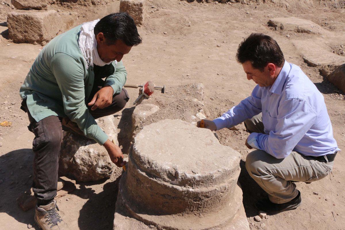 Adıyaman daki Perre Antik Kenti nden sütun ve yazıtlar çıktı #8