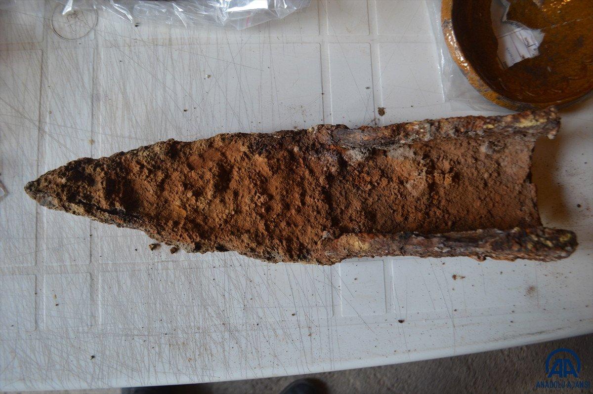 Afyonkarahisar da 800 yıllık demir saban bulundu #2