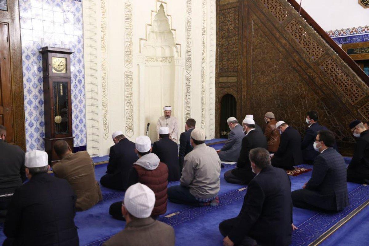 Ali Erbaş: Okuldan sonra çocukları camilerimize getirelim #3