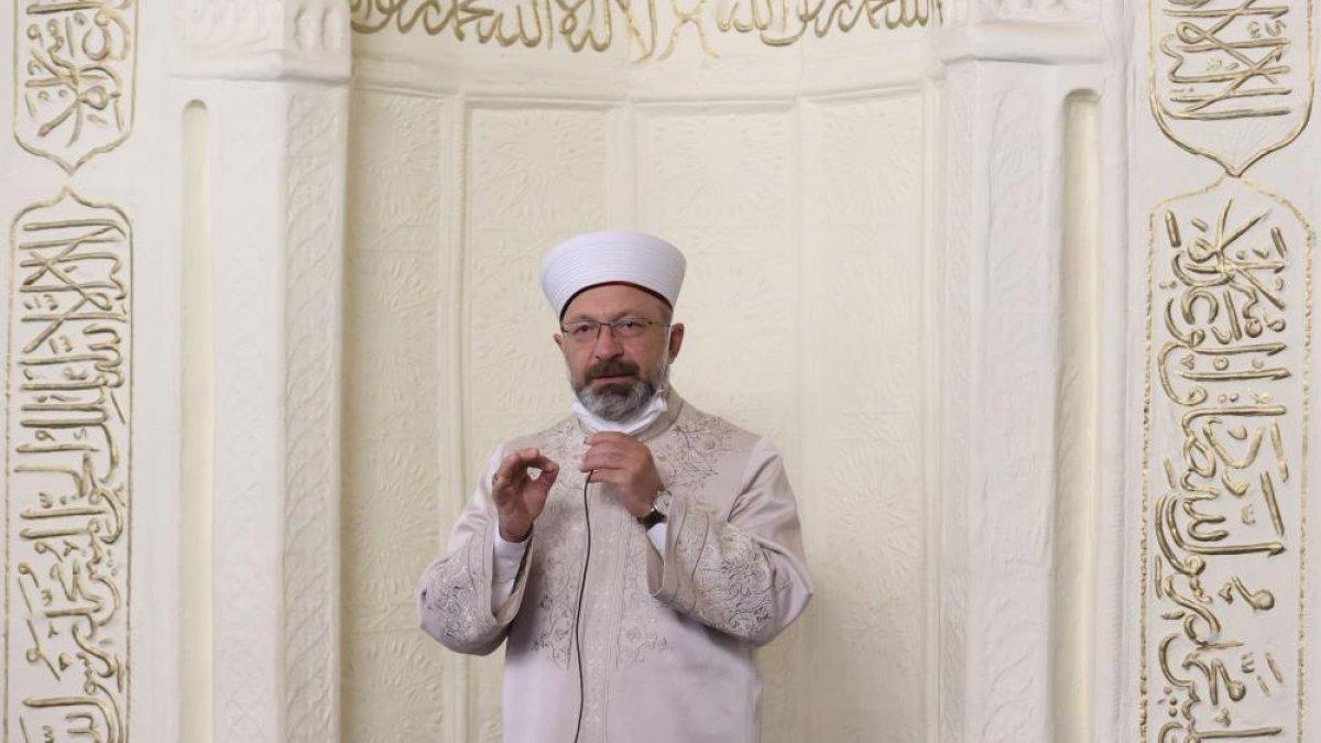 Ali Erbaş: Okuldan sonra çocukları camilerimize getirelim