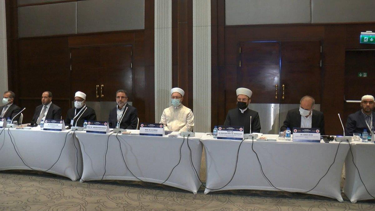Ali Erbaş, Uluslararası Namaz Vakitleri Kongresi açılış programında konuştu #2