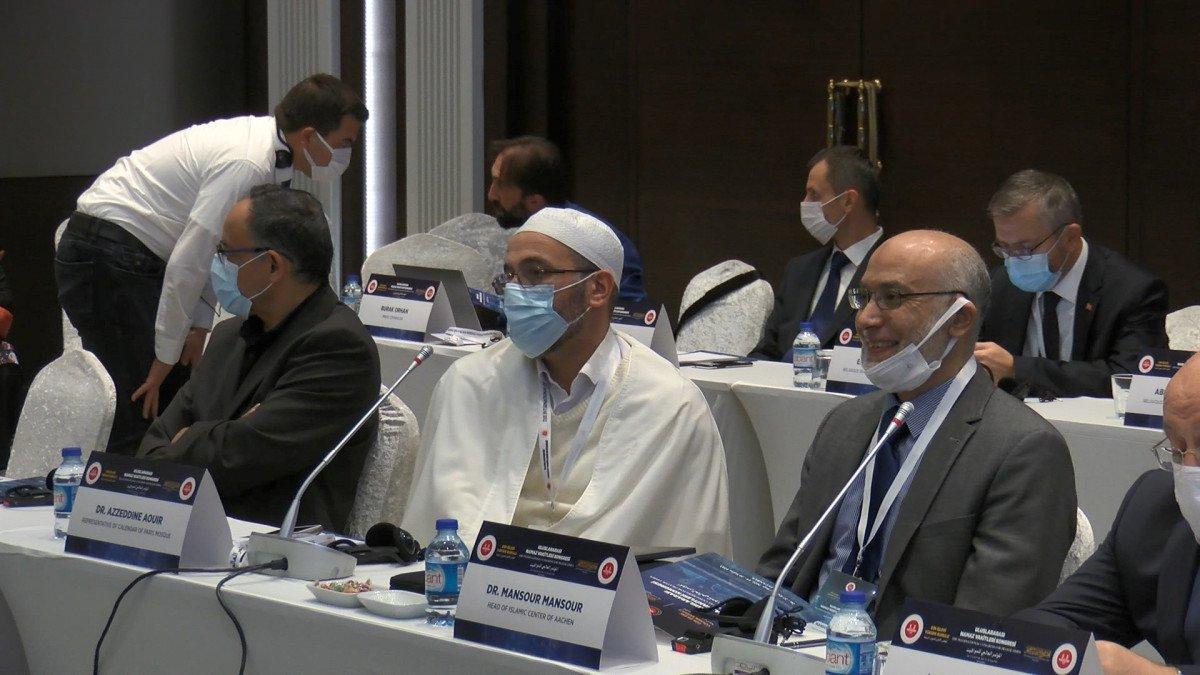 Ali Erbaş, Uluslararası Namaz Vakitleri Kongresi açılış programında konuştu #3