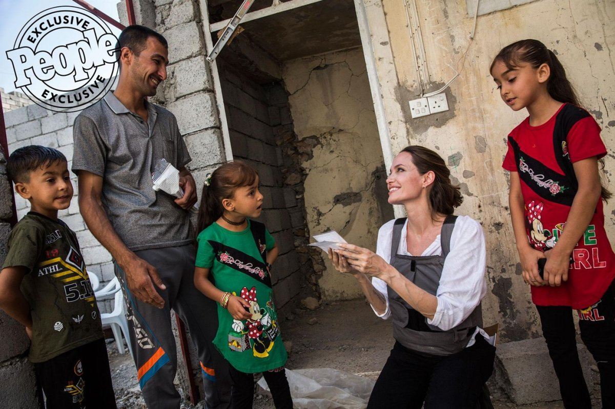 Angelina Jolie, Afganistan için Instagram hesabı açtı #3