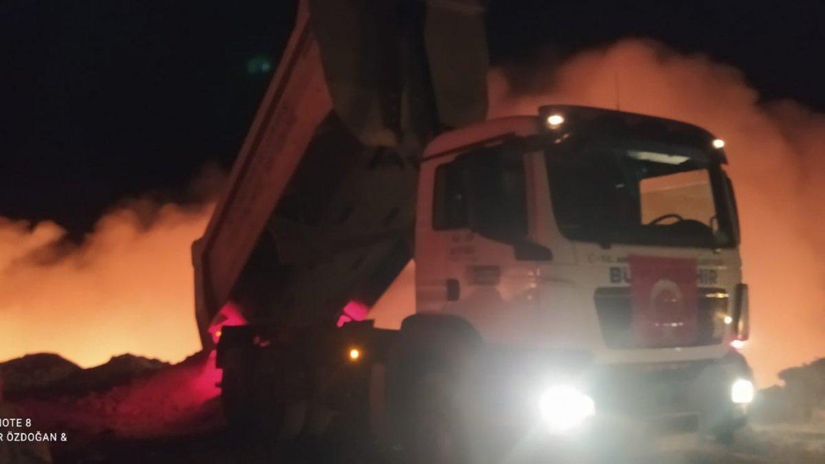 Ankara'da eski bir çöplükte patlama gerçekleşti