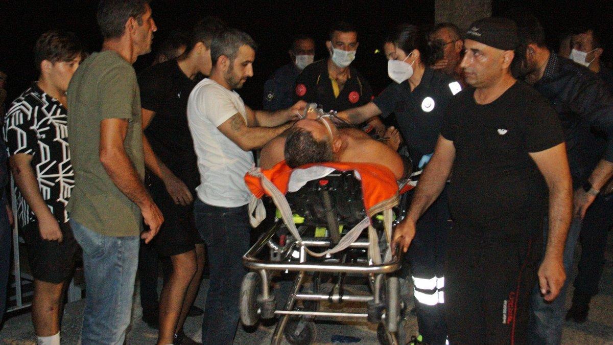 Antalya'da bir kişi girdiği denizde boğulma tehlikesi yaşadı
