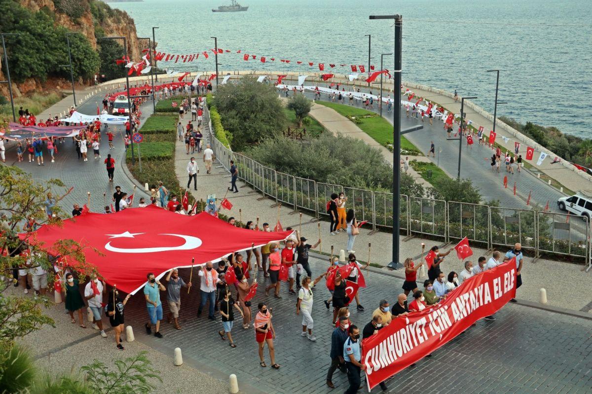 Antalya da HES kodlu fener alayı #1