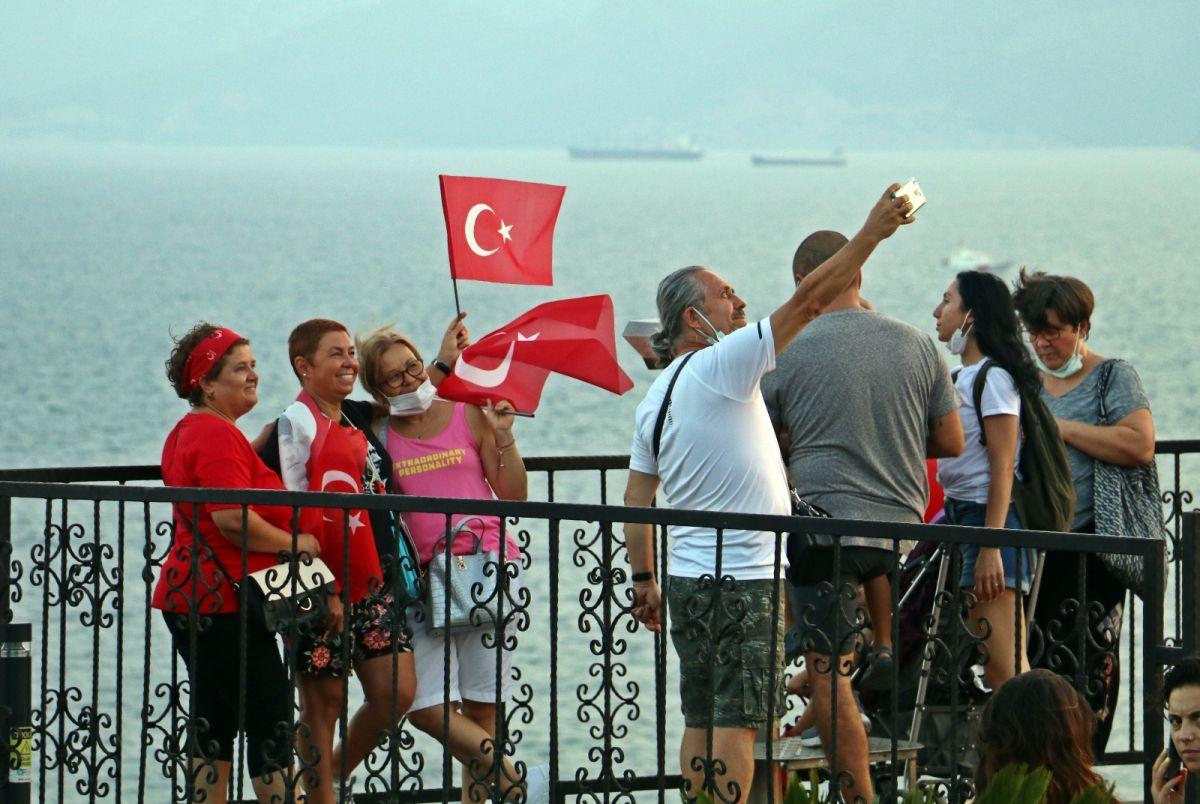 Antalya da HES kodlu fener alayı #6