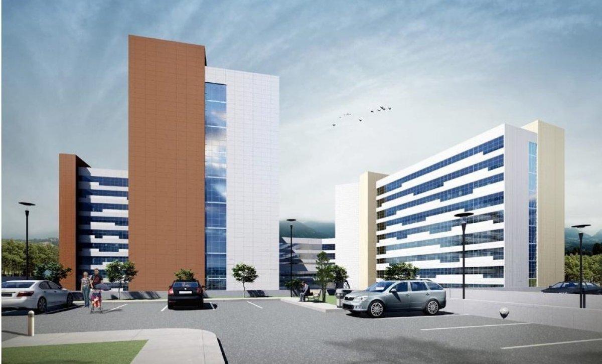 Antalya Şehir Hastanesi inşaatının yüzde 7'lik bölümü tamamlandı #3