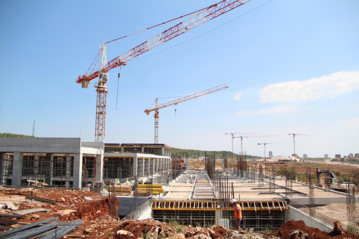Antalya Şehir Hastanesi inşaatının yüzde 7'lik bölümü tamamlandı #6