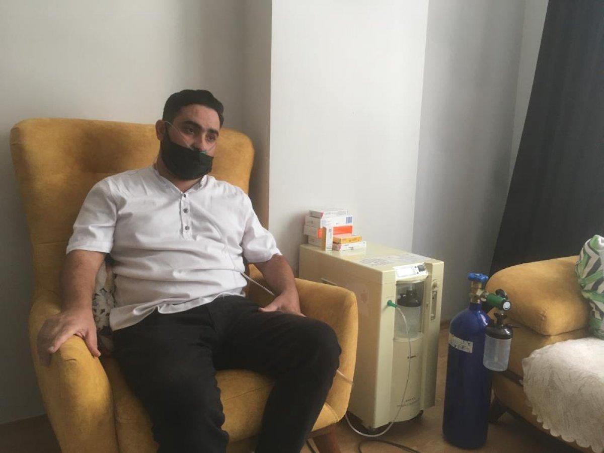 Aşı karşıtı bir vatandaş koronaya yakalandı: Şu an gelseler beş tane aşı olurum #2