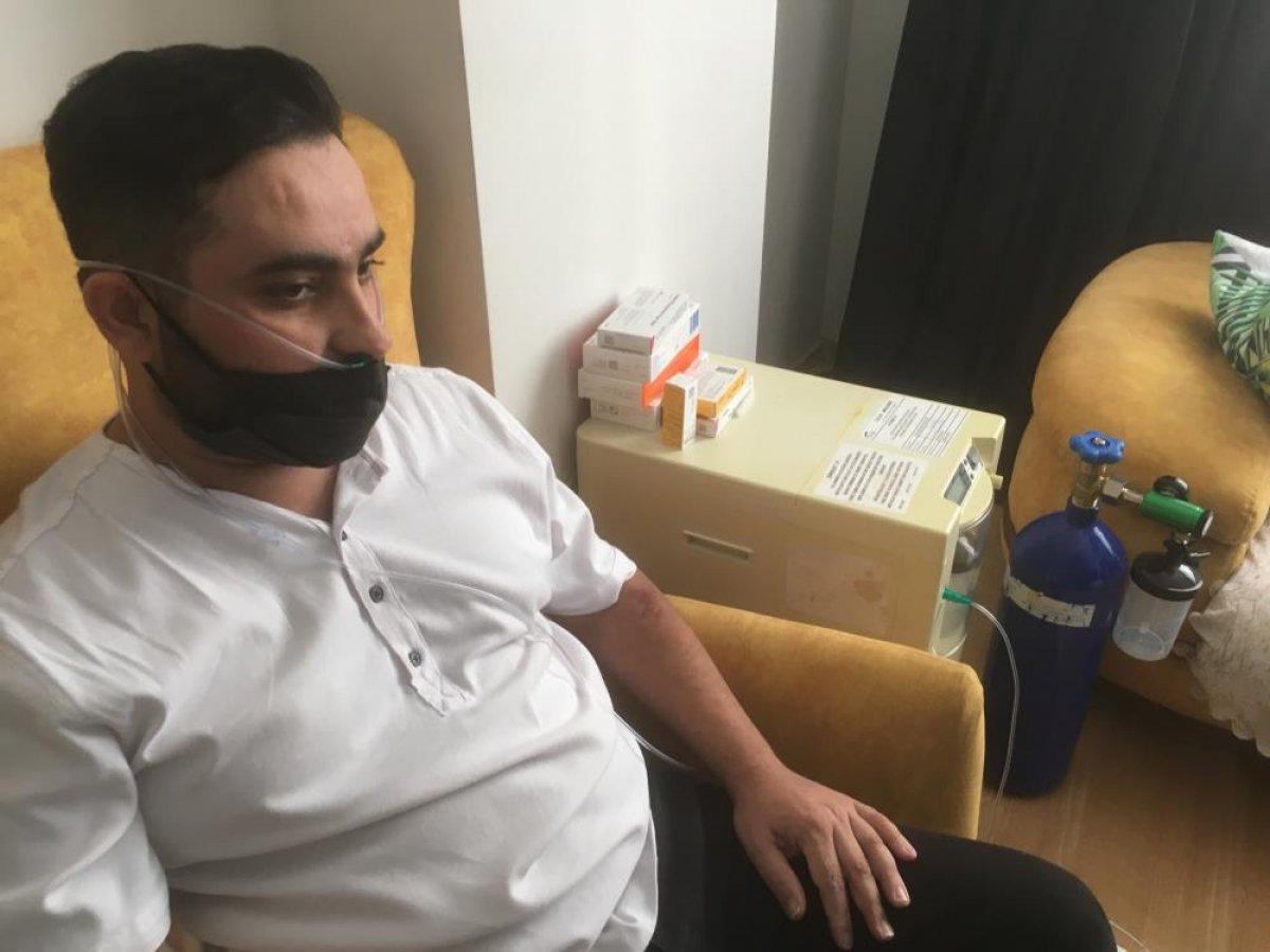Aşı karşıtı bir vatandaş koronaya yakalandı: Şu an gelseler beş tane aşı olurum #6