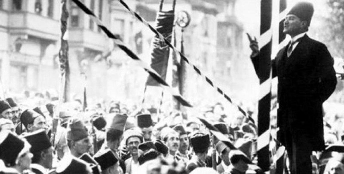 Atatürk ün 30 Ağustos Zaferi sonrası verdiği emrin belgesi #3