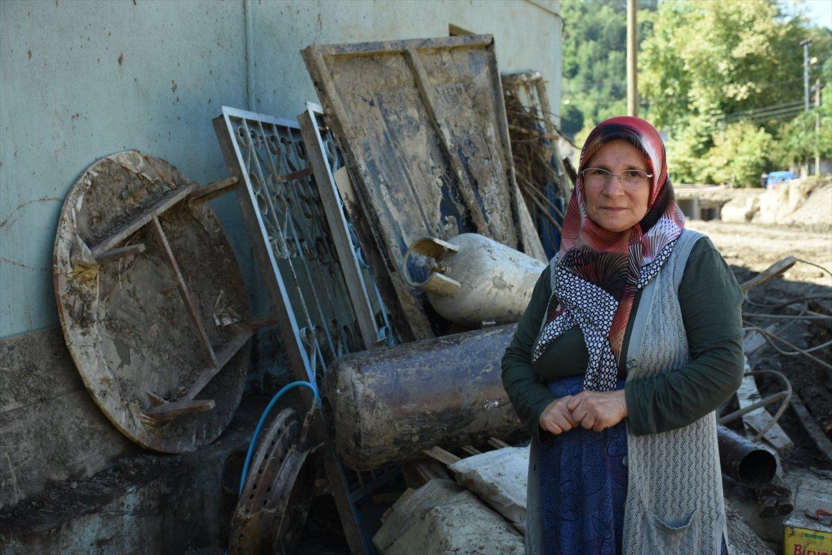 Bartınlı selzede Emine Yavuz, o anları anlattı #2