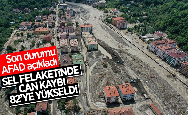 Batı Karadeniz'deki selde can kaybı 82'ye yükseldi