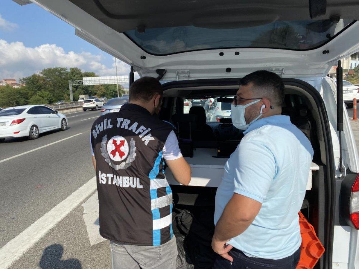 Beykoz da sürücülere usulsüz çakar denetimi yapıldı #2
