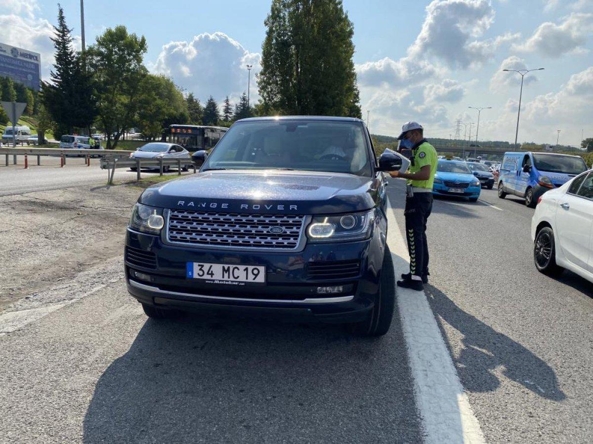 Beykoz da sürücülere usulsüz çakar denetimi yapıldı #4