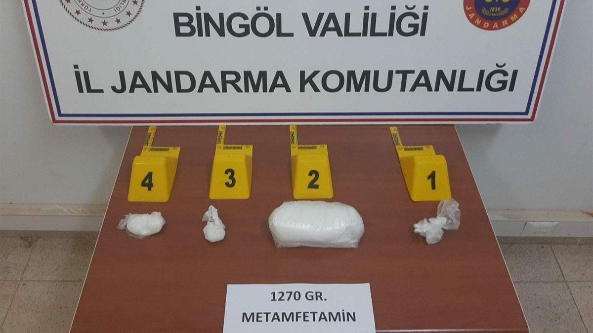 Bingöl'de 500 bin TL değerinde uyuşturucu yakalandı
