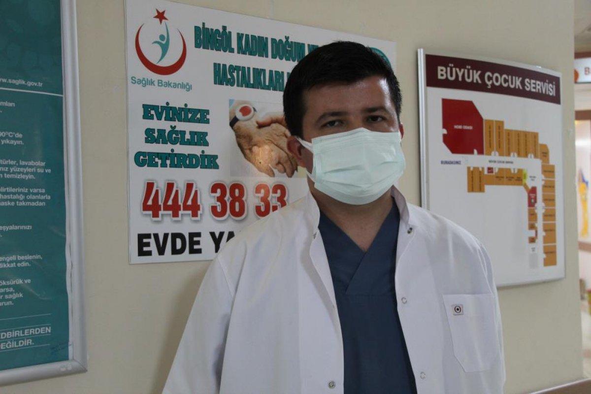 Bingöl de koronavirüse yakalanan hamile kadın, pişman olduğunu söyledi #4