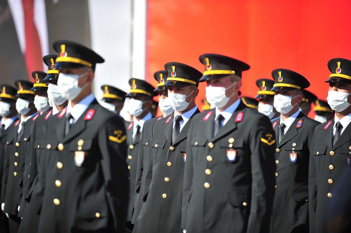 Bursa da jandarma astsubay adayları törende ant içti #1