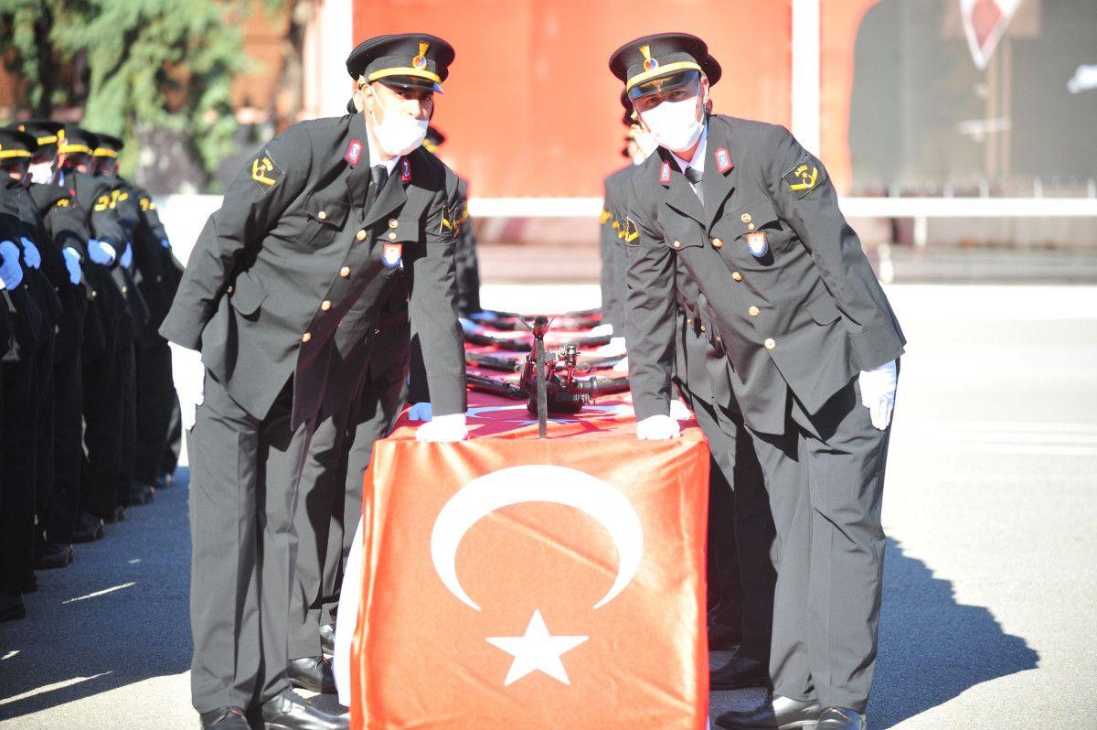Bursa da jandarma astsubay adayları törende ant içti #2