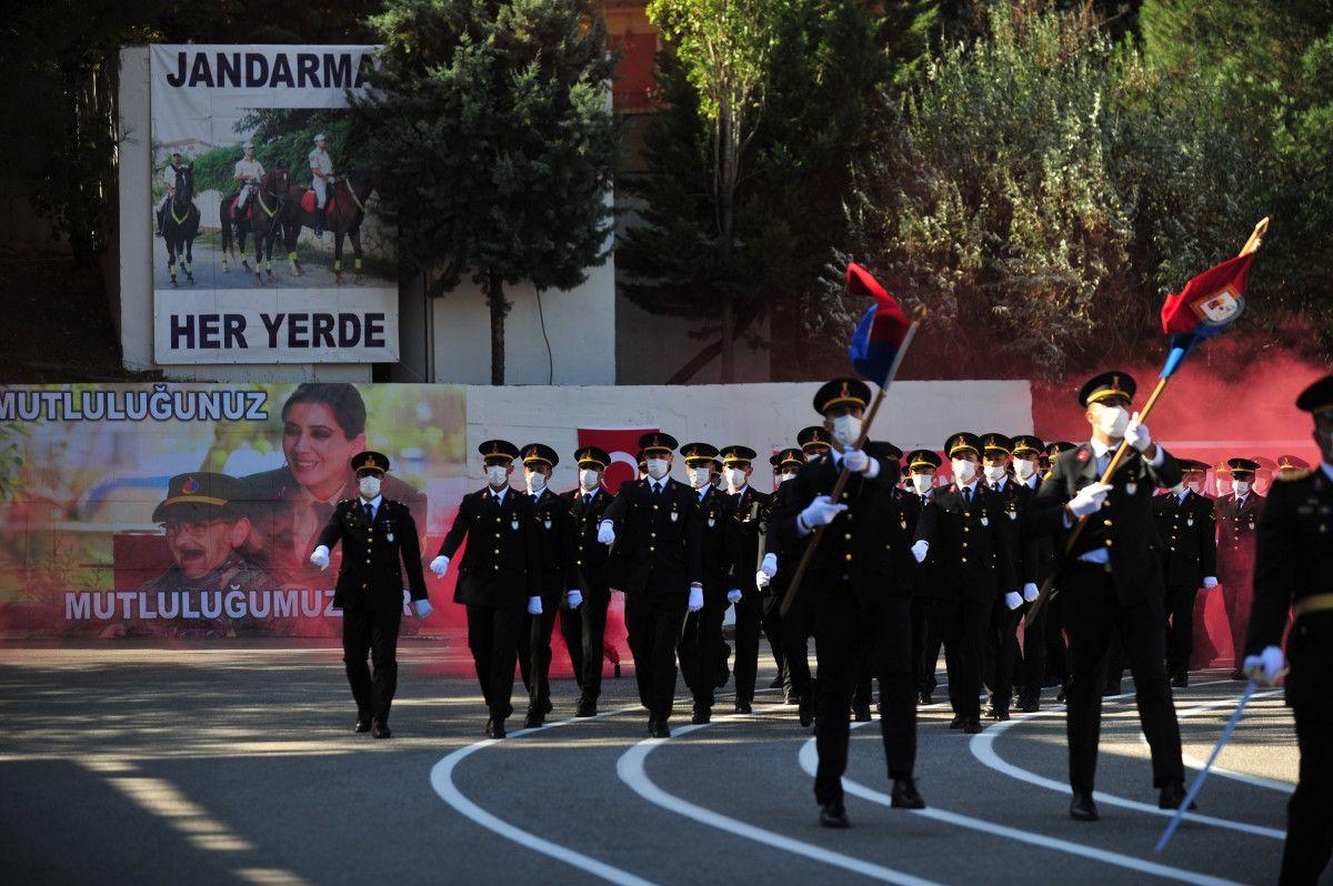 Bursa da jandarma astsubay adayları törende ant içti #5