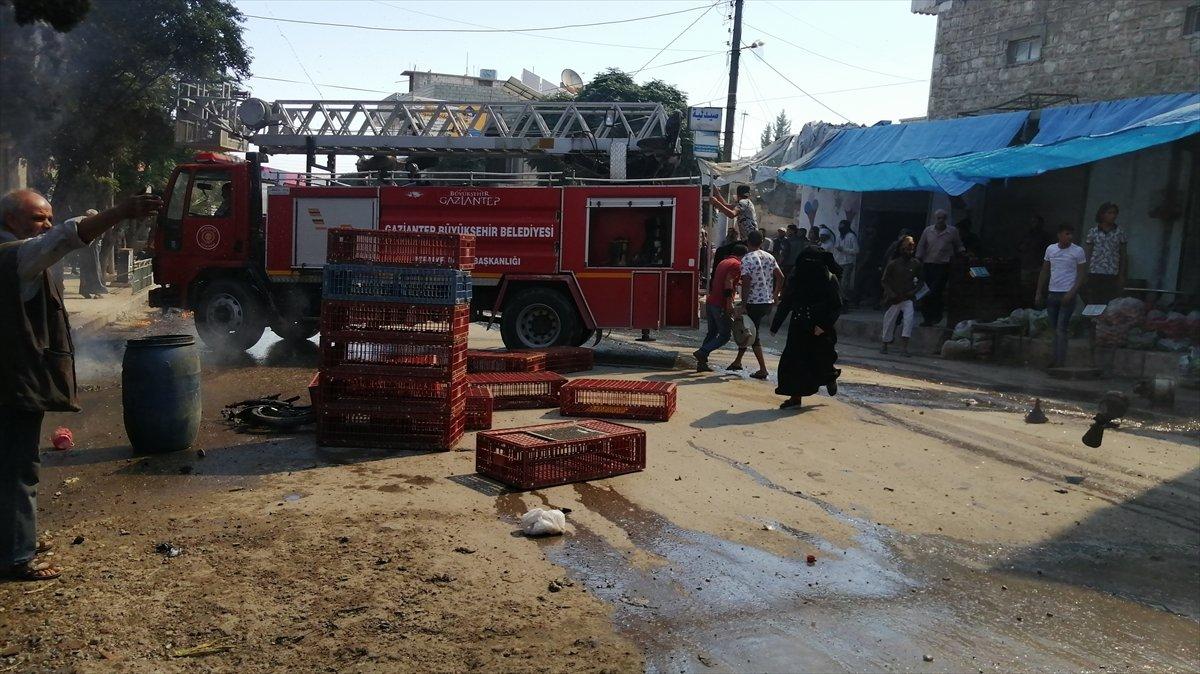 Cerablus ta eş zamanlı bombalı saldırı: 2 ölü 19 yaralı #1
