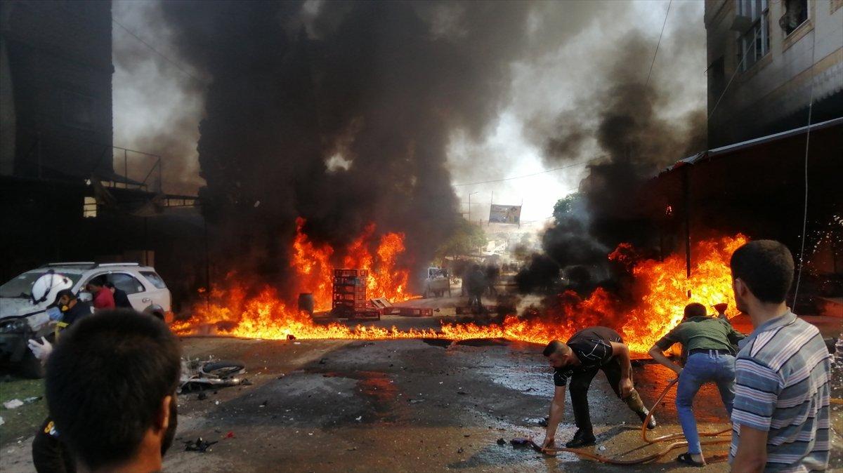 Cerablus ta eş zamanlı bombalı saldırı: 2 ölü 19 yaralı #5