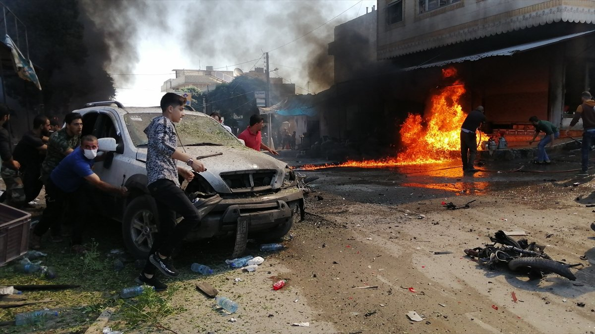 Cerablus ta eş zamanlı bombalı saldırı: 2 ölü 19 yaralı #6
