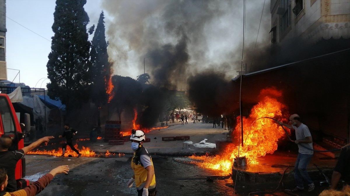 Cerablus ta eş zamanlı bombalı saldırı: 2 ölü 19 yaralı #8
