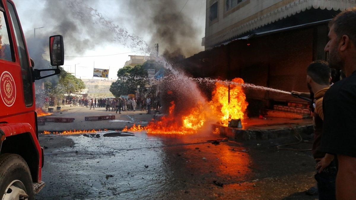 Cerablus ta eş zamanlı bombalı saldırı: 2 ölü 19 yaralı #10