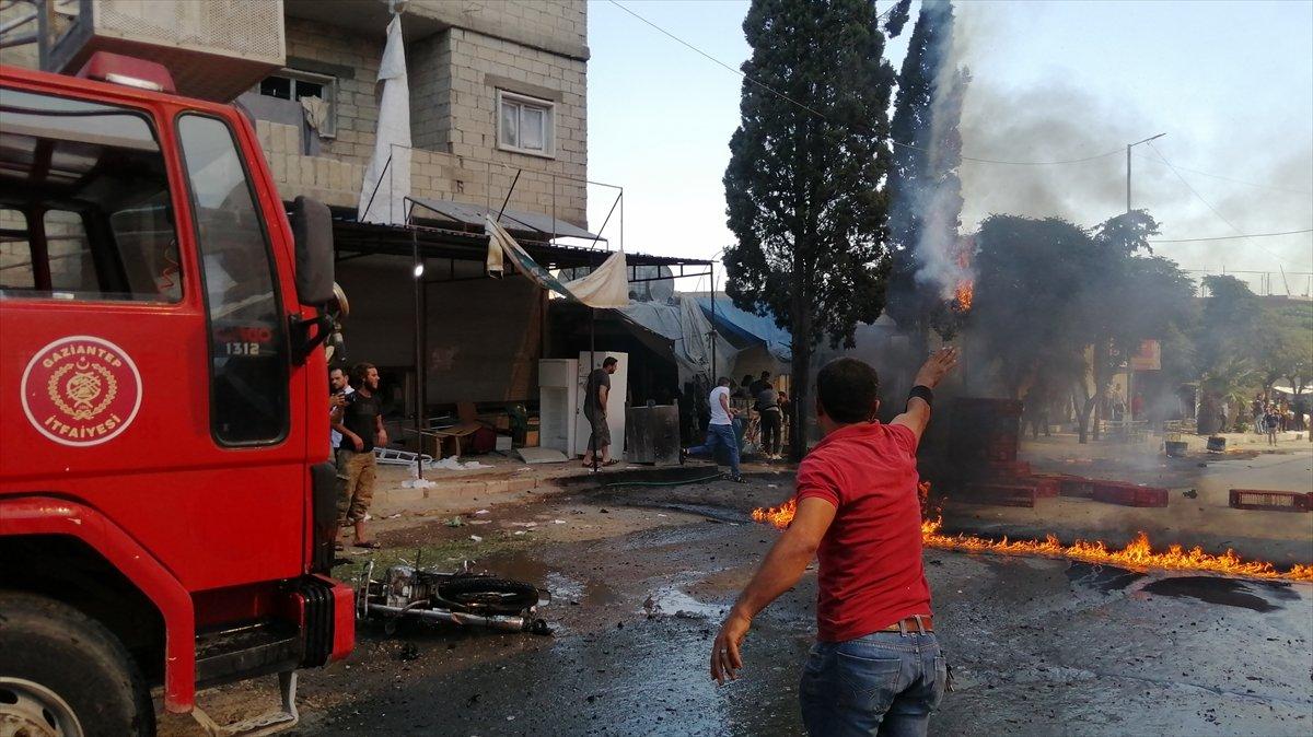 Cerablus ta eş zamanlı bombalı saldırı: 2 ölü 19 yaralı #12