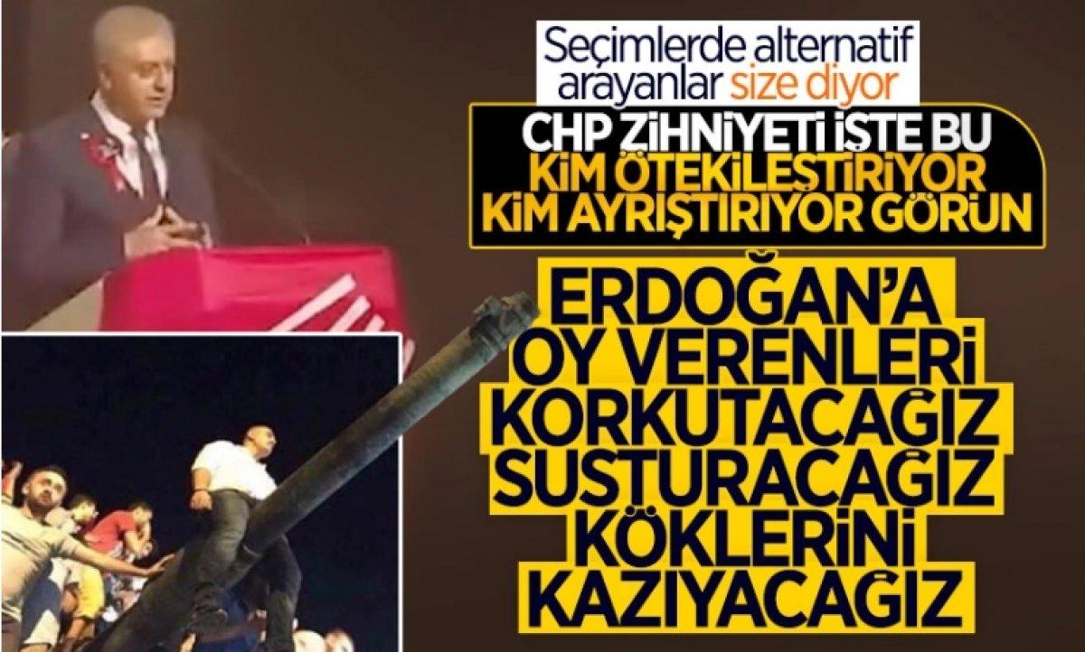 CHP li Engin Altay AK Partilileri tehdit eden Cemal Emir i savundu #3
