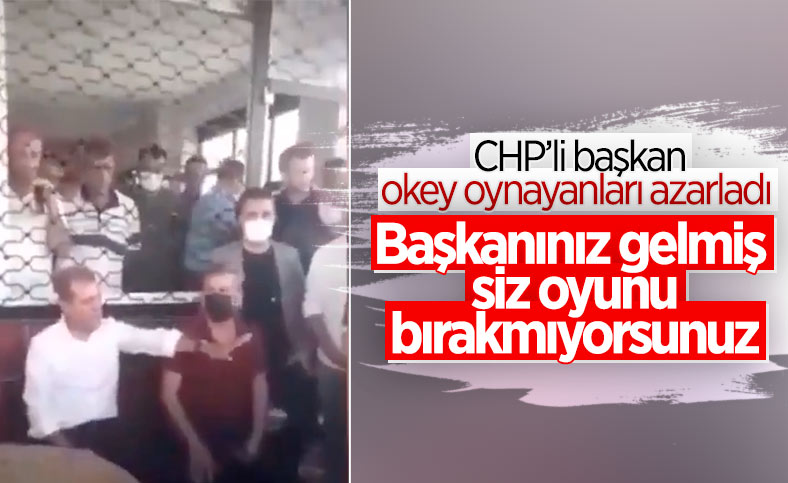 CHP'li Vahap Seçer'den oyun oynayanlara azar