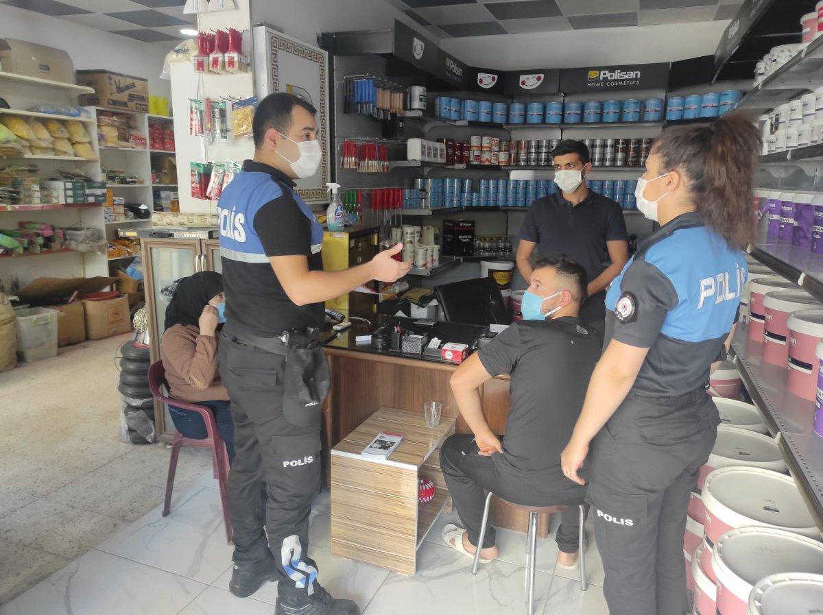 Cizre'de polis halkla kaynaşıyor #4