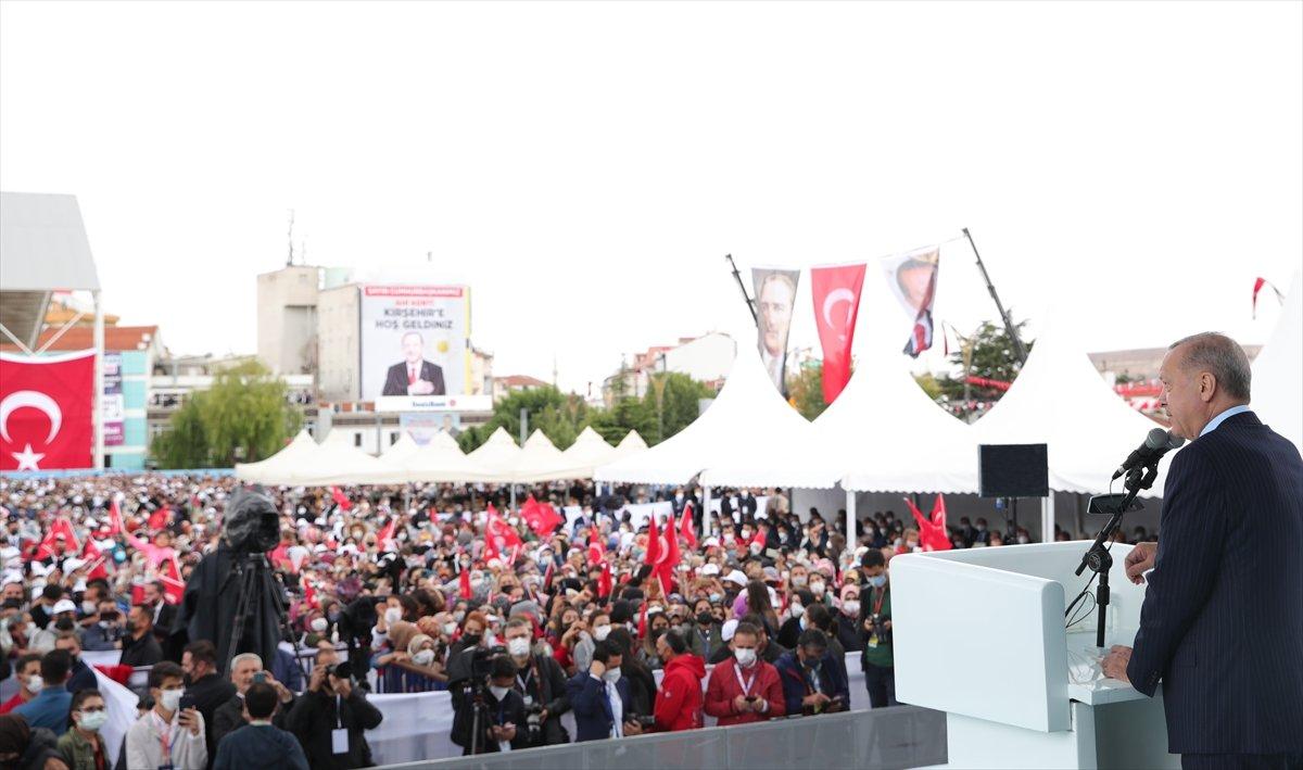 Cumhurbaşkanı Erdoğan a çocuklardan yoğun ilgi #6