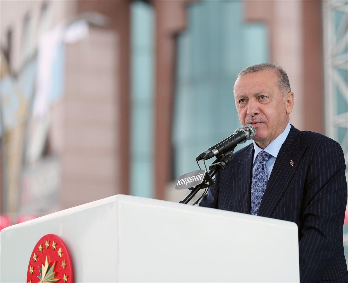 Cumhurbaşkanı Erdoğan a çocuklardan yoğun ilgi #7