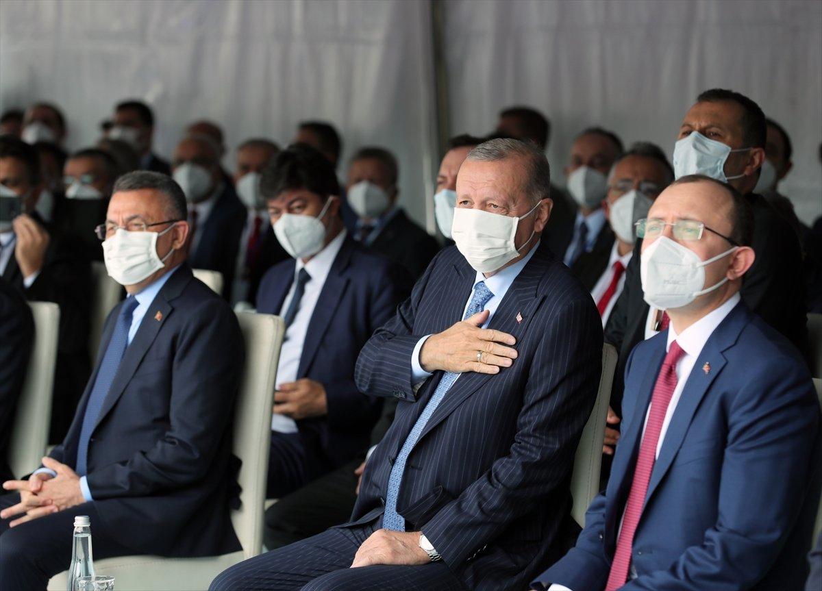 Cumhurbaşkanı Erdoğan a çocuklardan yoğun ilgi #8