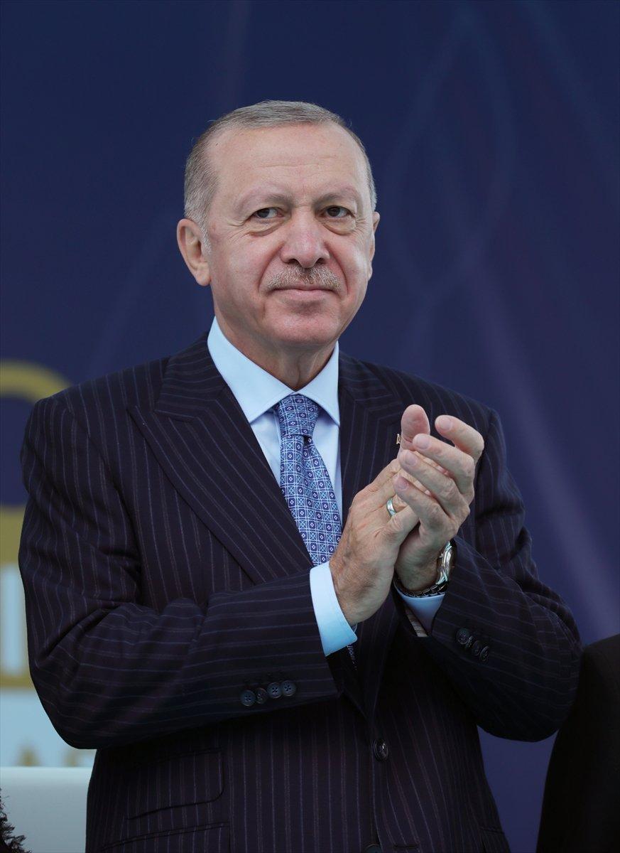 Cumhurbaşkanı Erdoğan a çocuklardan yoğun ilgi #10