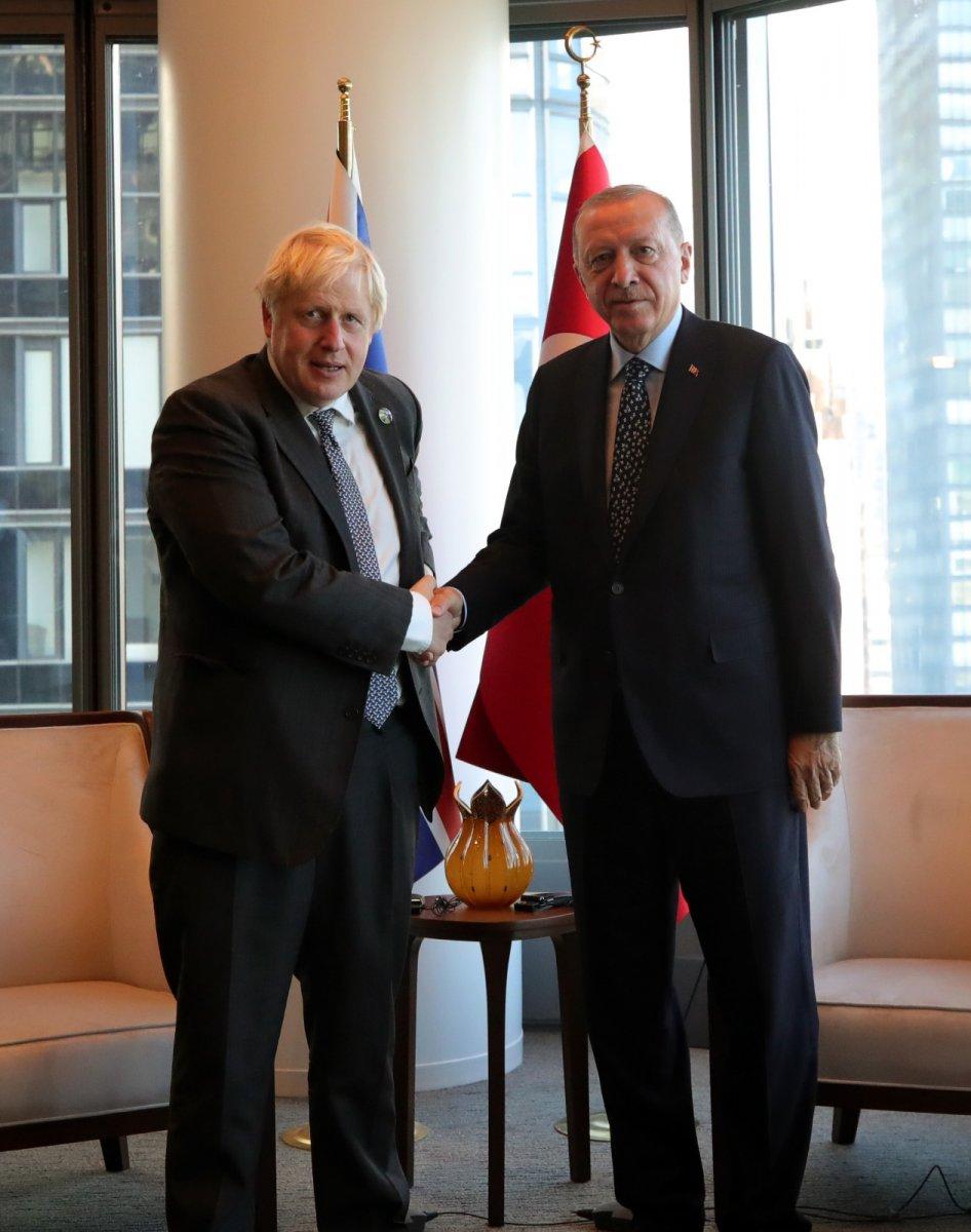 Cumhurbaşkanı Erdoğan ABD de liderlerle görüştü #4