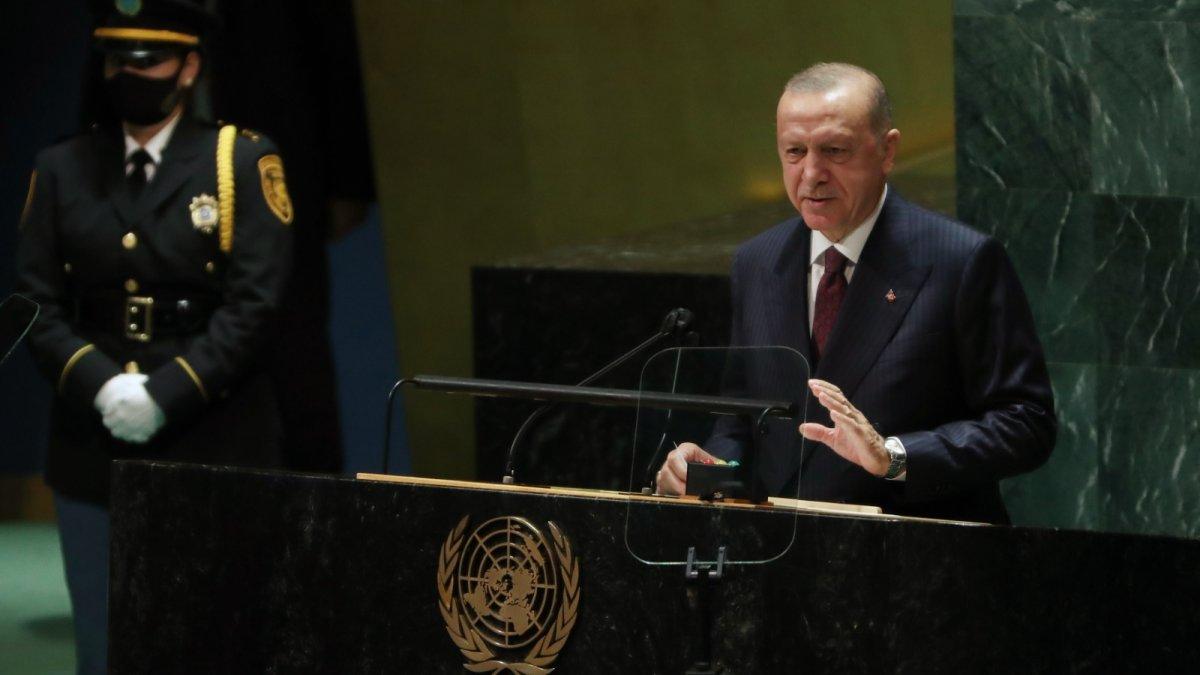 Cumhurbaşkanı Erdoğan ABD'de liderlerle görüştü