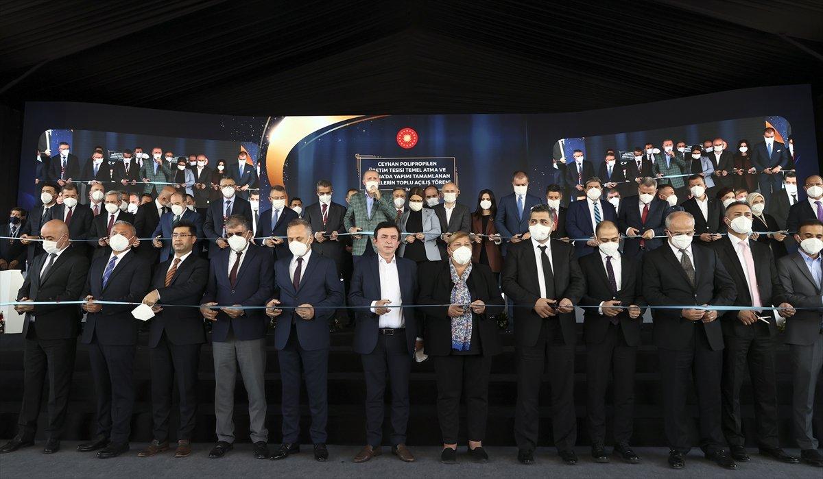 Cumhurbaşkanı Erdoğan, Adana da toplu açılış törenine katıldı #4